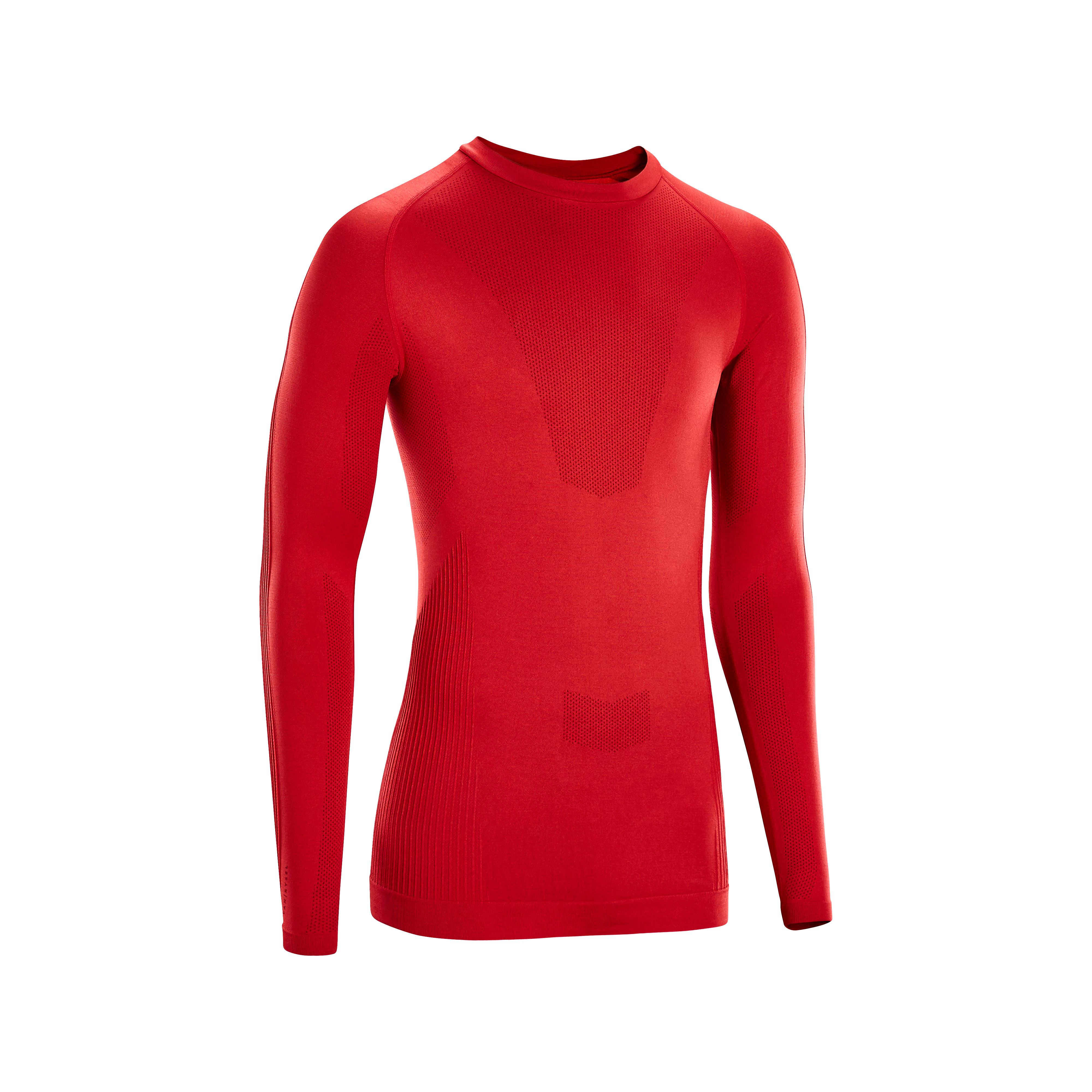 Bluză ciclism iarnă 500 Roșu