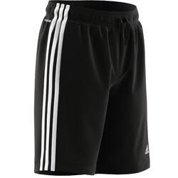 Shorts 3 Streifen Aeroready Kinder schwarz