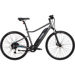 E-Bike Cross Bike 28 Zoll Riverside 500E grau/grün