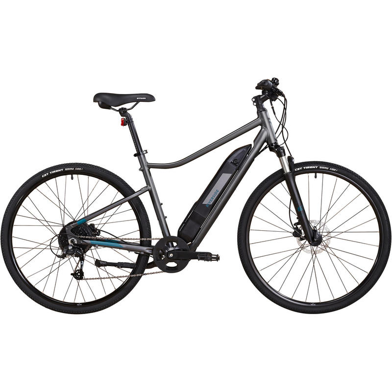 Electric Hybrid Bike Riverside 500 E - Grey/Green
