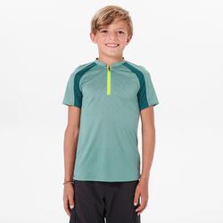 T SHIRT de randonnée enfant MH550 vert 7-15 ans