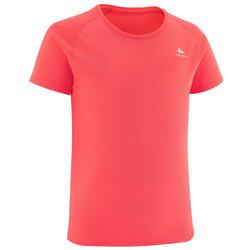 T-Shirt montagna bambina 7-15 anni MH500 corallo