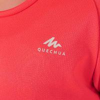 """Vaikiški žygių marškinėliai """"MH500"""", 7–15 m. vaikams, koralo spalvos"""