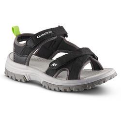 Sandales de randonnée MH120 TW noire - enfant - 28 AU 39