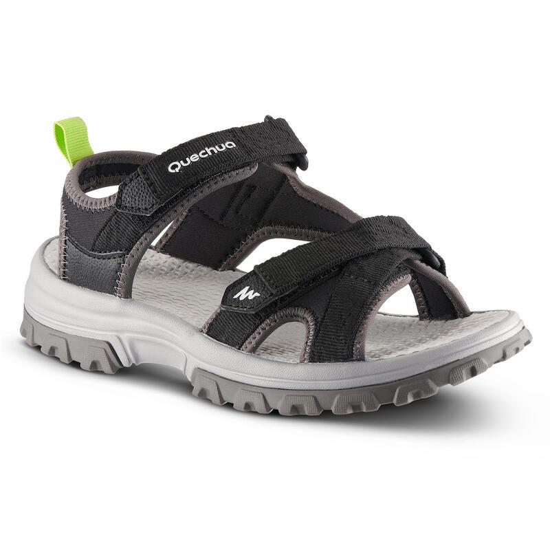 Chlapecké turistické sandály MH120 černé