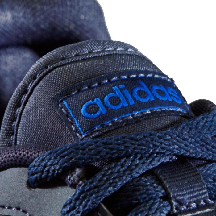 Chaussures de marche enfant Adidas Switch noir / bleu lacets