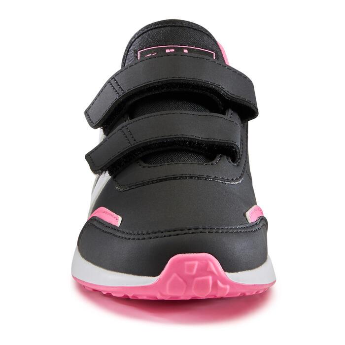Chaussures de marche enfant Adidas Switch noir / rose velcro