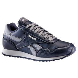 Calçado de caminhada desportiva criança c/ atacadores Reebok Classic azul/cinza
