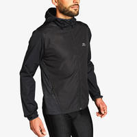 Manteau de course coupe-vent à capuchon Run Wind – Hommes