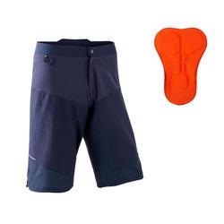 Pantaloncini mtb uomo ST 500 blu