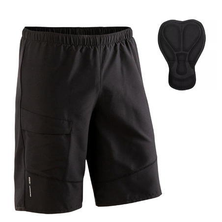 ST 100 Padded Mountain Bike Shorts - Black