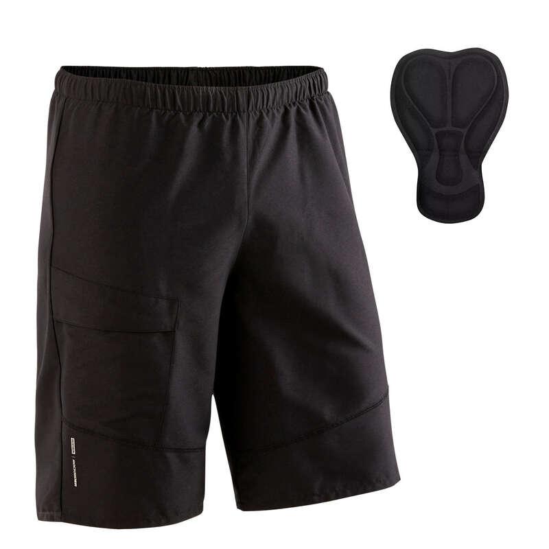 FFI MTB RUHÁZAT KEZD#KNEK, MELEG ID#BEN Kerékpározás - Férfi rövidnadrág MTB ST 100 ROCKRIDER - Kerékpáros ruházat