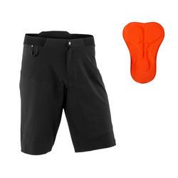 登山車短褲ST 500 - 黑色