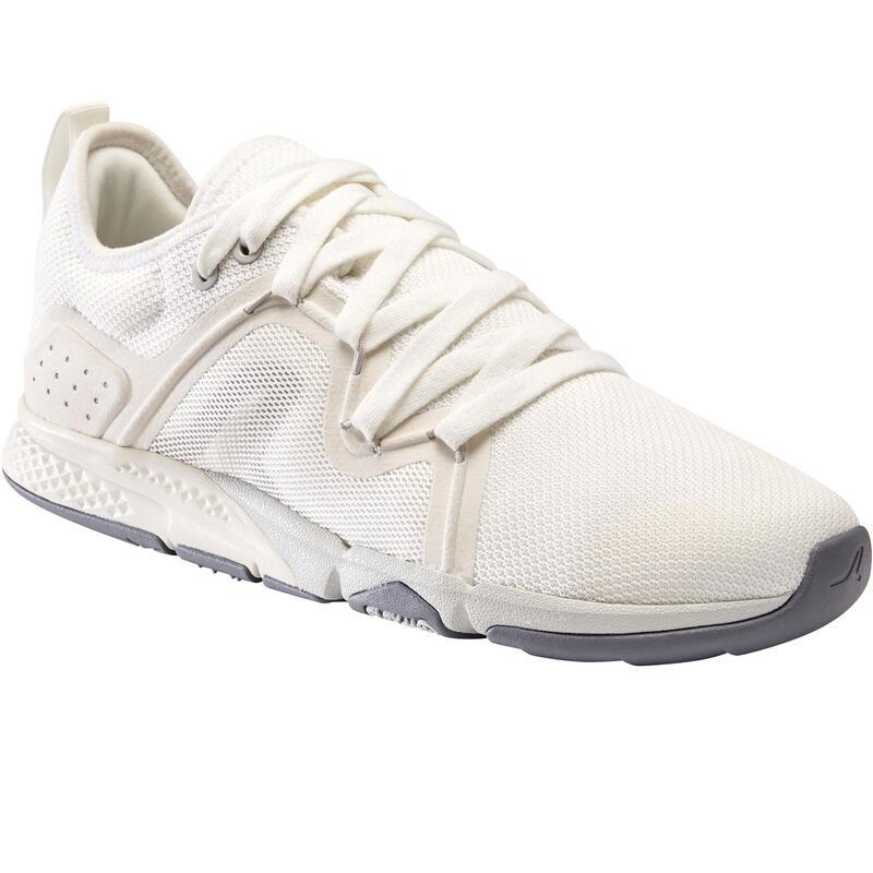 Calçado de caminhada desportiva Mulher PW 540 Flex-H+ branco