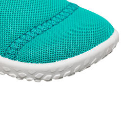 Baby's shoes for water Aquashoes 100 - turquoise