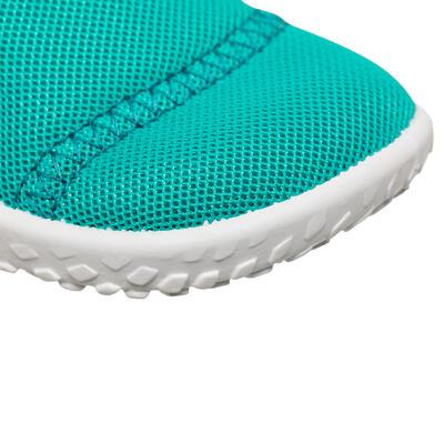Zapatillas Acuáticas Aquashoes 100 Bebé Turquesa