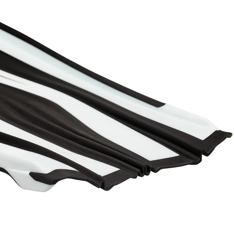 Palmes de plongée bouteille SCD 900 noir et blanc
