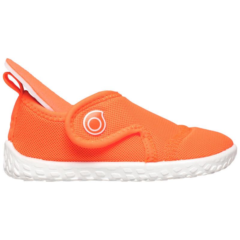 รองเท้าลุยน้ำสำหรับเด็กรุ่น 100 (สีส้ม Coral)
