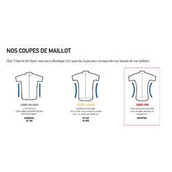 Maillot Vélo Route RACER noir