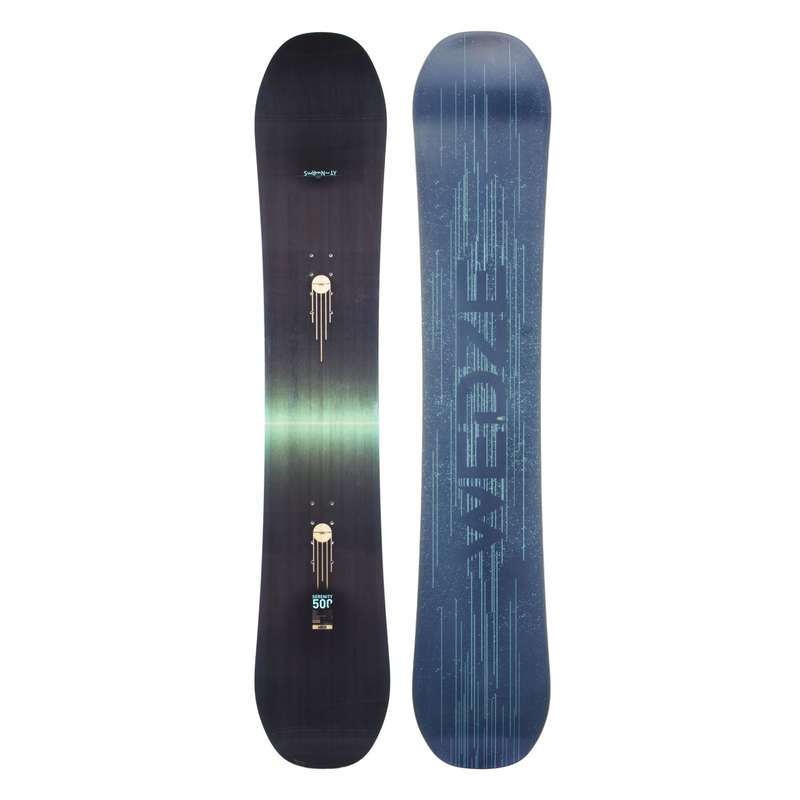 ADVANCED WOMEN SNOWBOARD EQUIPMENT Schi si Snowboard - Snowboard Serenity 500  DREAMSCAPE - Placi, Boots, Legaturi Snowboard