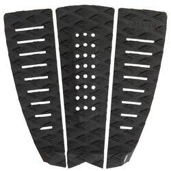 三片式後腳衝浪板防滑墊-黑色