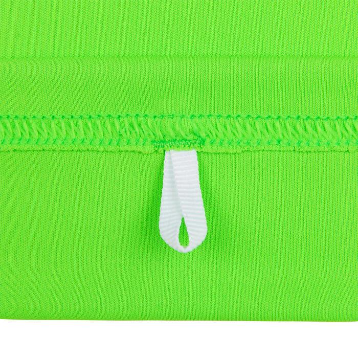 water tee shirt anti UV surf enfant vert imprimé