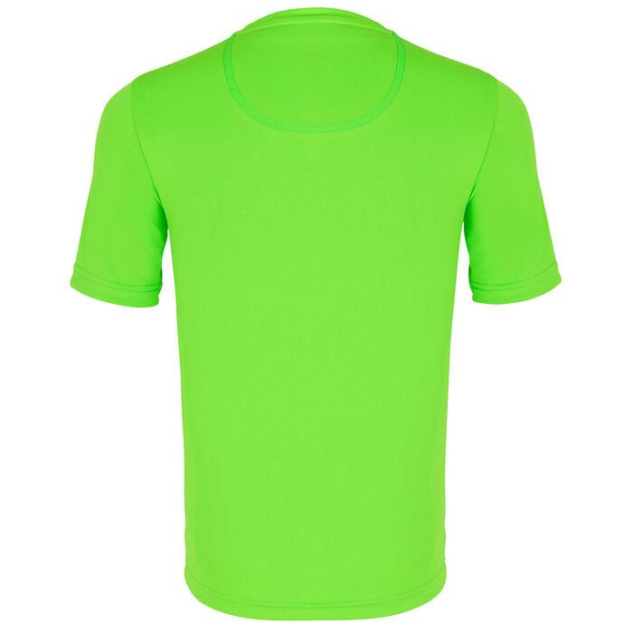 Wasser-T-Shirt UV-Schutz Surfen Kinder grün bedruckt