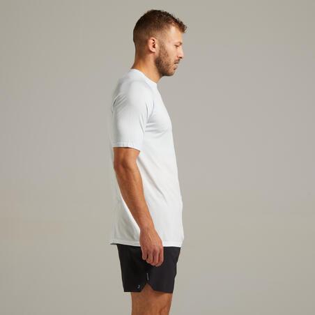 Kiprun Care Men's Running Breathable T-Shirt - white