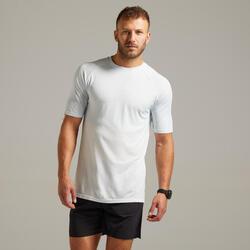 Ademend hardloop T-shirt voor heren Care wit