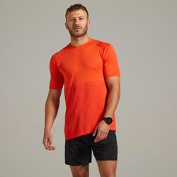 Ademend hardloop T-shirt voor heren Care rood