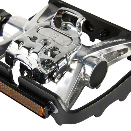 Dual Function SPD Compatible Mountain Bike Pedals 500