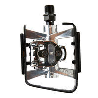 SPD-Compatible Clipless Flat Mountain Bike Pedals 500