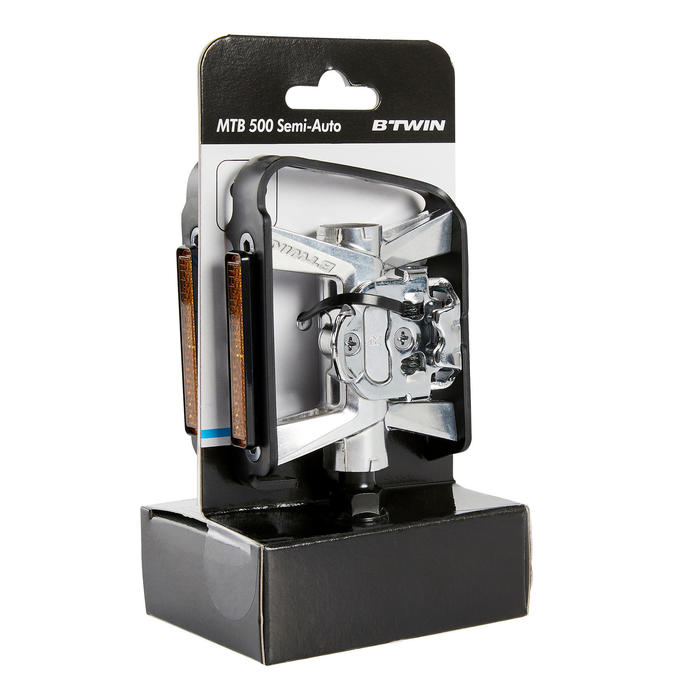 Dual Function SPD Compatible Mountain Bike Pedals