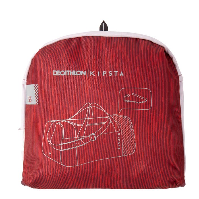 Sporttas Essentiel 55 liter bordeaux rood