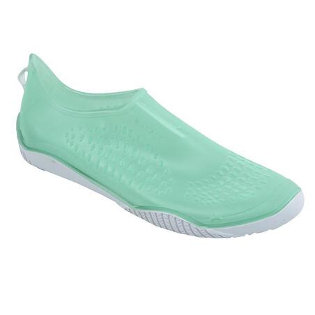 Aquafit, aquabiking and aqua-aerobics shoes Fitshoe - light green