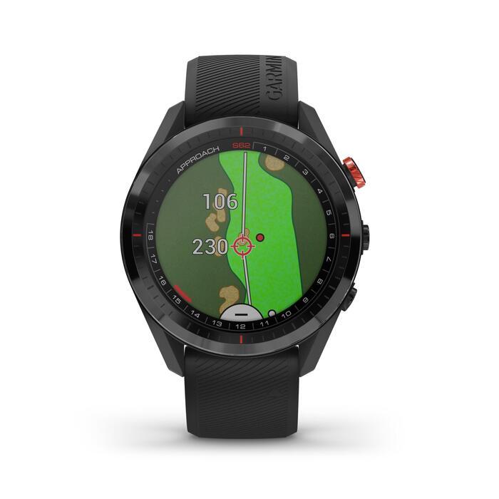 MONTRE GPS DE GOLF APPROACH S62 NOIRE