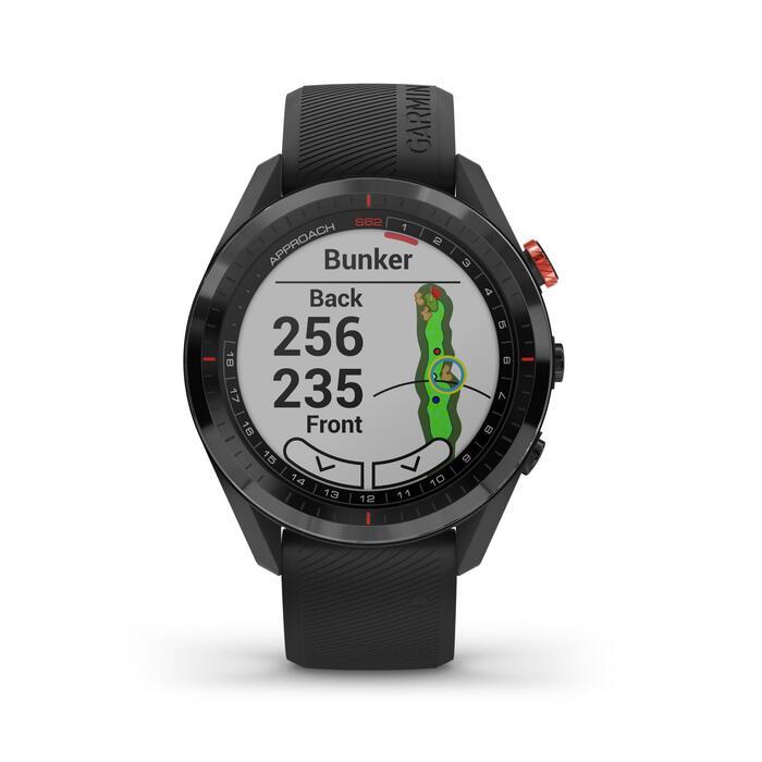 Golf GPS-Uhr Approach S62 schwarz