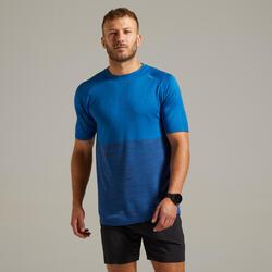 Ademend hardloop T-shirt voor heren Care blauw