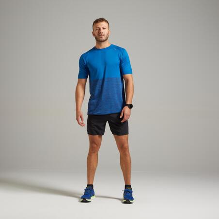 Kiprun Care Men's Running Breathable T-Shirt - Blue