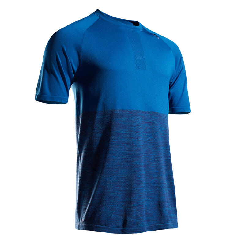 Kiprun Care Men's Running Breathable T-Shirt - Blue