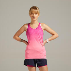 KIPRUN CARE WOMEN'S BREATHABLE RUNNING TANK TOP - PINK
