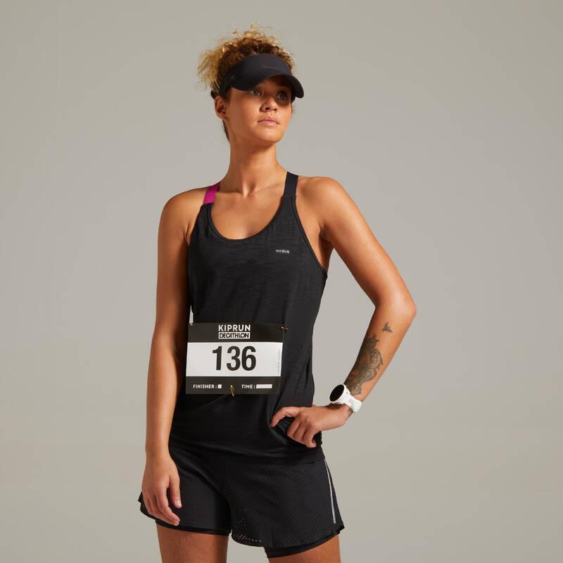 DÁMSKÉ BĚŽECKÉ OBLEČENÍ TEPLÉ/MÍRNÉ POČASÍ Běh - TÍLKO CARE MODRÉ  KIPRUN - Běžecké oblečení