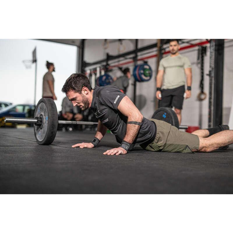 Cross Training ruházat Fitnesz - Férfi rövidnadrág DOMYOS - Fitnesz
