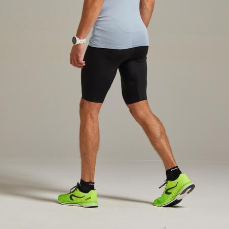 Men's Running Tight Shorts - black