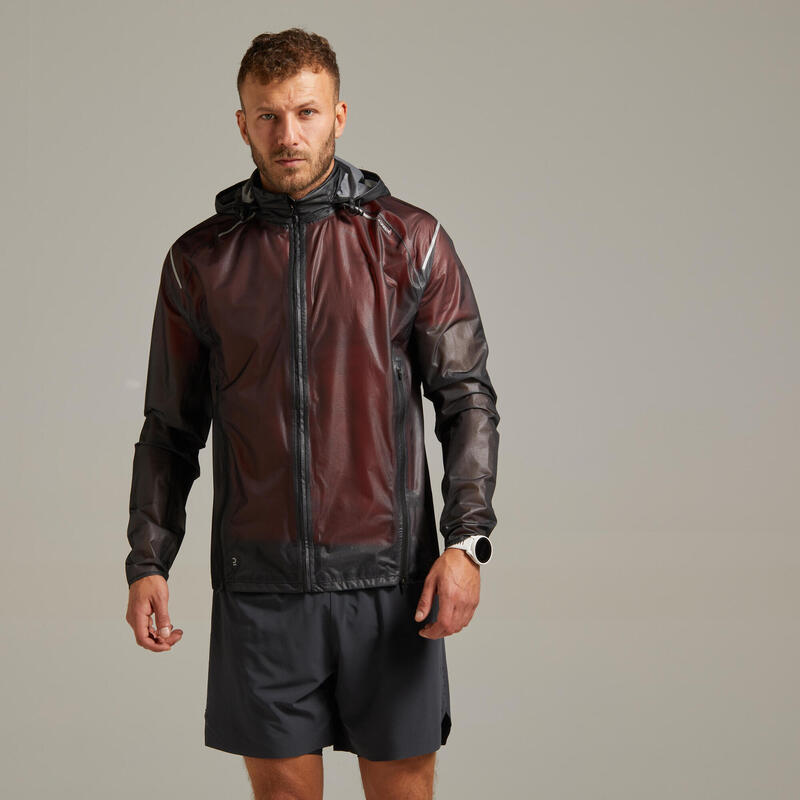 CHAQUE TRAIL RUNNING IMPERMEABLE KIPRUN LIGHT HOMBRE NEGRO