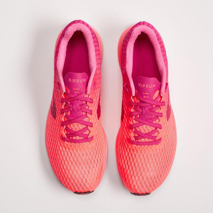 Laufschuhe Kiprun Ultralight Damen rosa