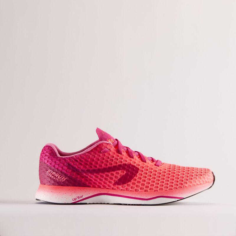 Hardloopschoenen voor dames Kiprun Ultralight roze