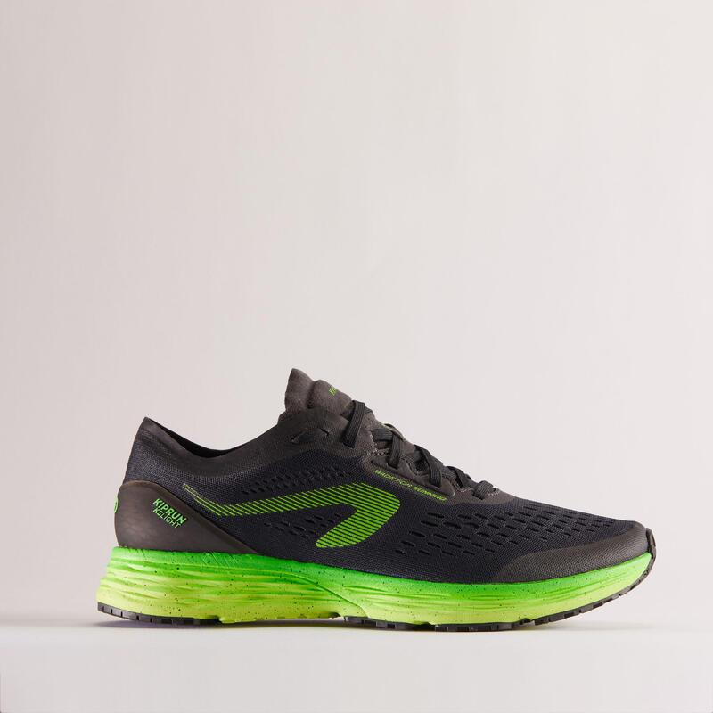 Scarpe running uomo KIPRUN KS LIGHT edizione limitata nero-verde