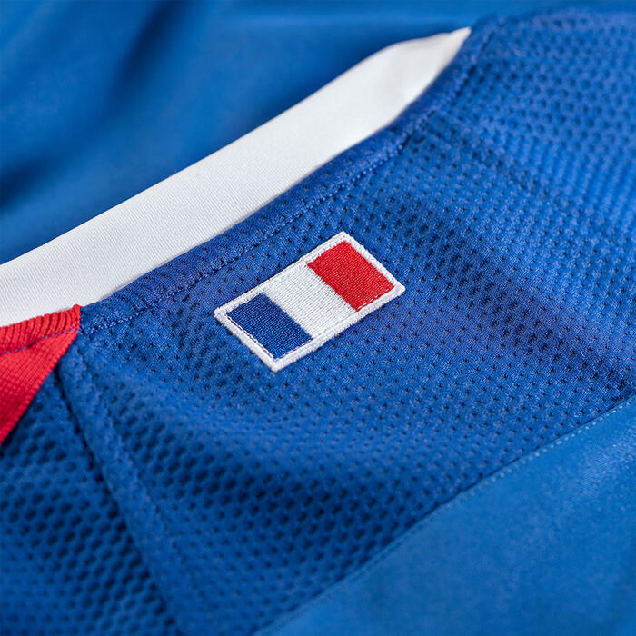 MAILLOT MANCHES COURTES DE RUGBY REPLICA FFR XV FRANCE adulte SAISON 2020 - 2021