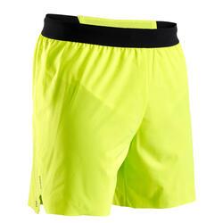 Pantaloncini running uomo KIPRUN LIGHT edizione limitata gialli
